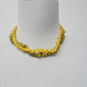 CLARA . 2 strand shell necklace / choker